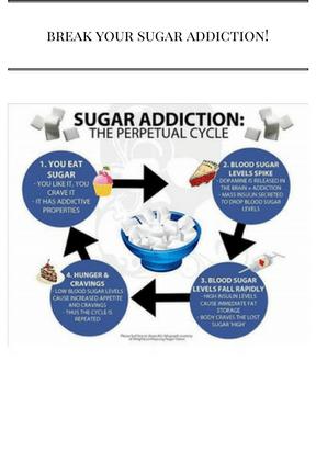 Ways to Break your Sugar Addiction